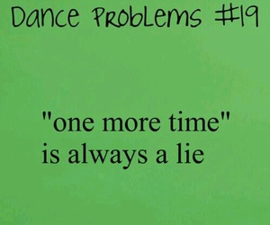 dance, lie, and dance problems image
