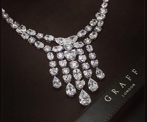diamond, necklace, and graff image