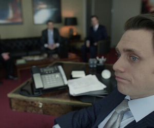 actor, blue eyes, and suit image