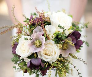 bouquets, wedding, and love image