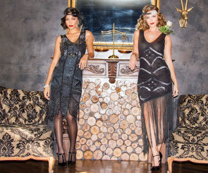 20s, costume, and flapper image