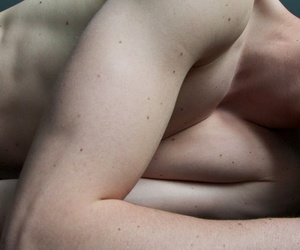 body, freckles, and pale image