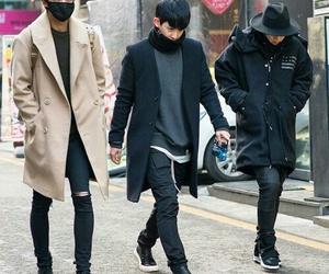 wonho, kpop, and hyungwon image