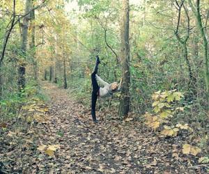 autumn, cheerleader, and fall image