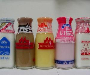 milk, japan, and drinks image