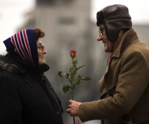 couple, rose, and photography image