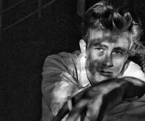 james dean, vintage, and 1955 image