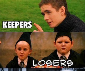 cedric diggory, oliver wood, and draco malfoy image