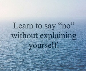 quote, no, and learn image