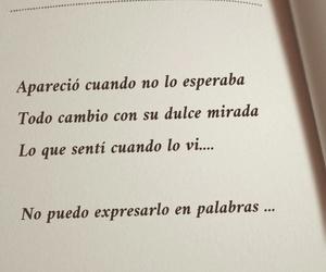 amor, mirada, and palabras image