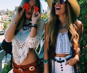 friends, summer, and tumblr image