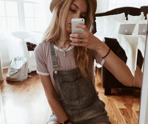 adorable, denim, and fedora image