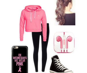 pink and Polyvore image