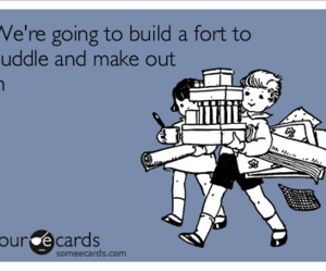 cuddle and fort image