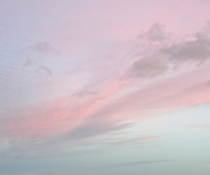 sky, pink, and pale image