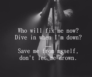 black and white, bring me the horizon, and dive image