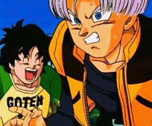 funny, dbz, and goten image