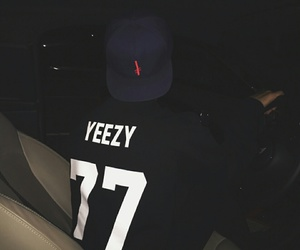 yeezy, black, and boy image