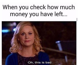 Amy Poehler, broke, and funny image