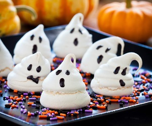 Halloween, ghost, and food image