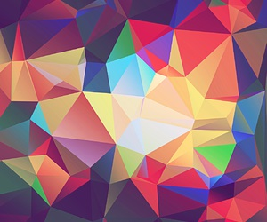 background, gems, and geometric image