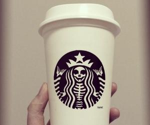 starbucks, coffee, and Halloween image
