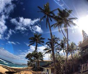 beach, sun, and paradise image