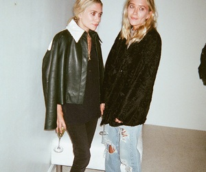 fashion, olsen, and ashley olsen image