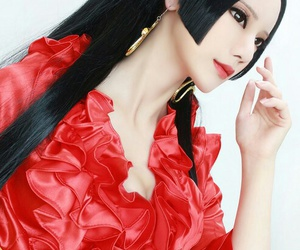 anime, cosplay, and onepiece image