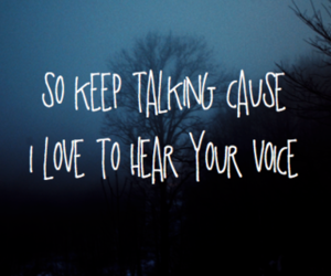 love, quotes, and voice image