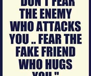 enemy, hug, and friends image