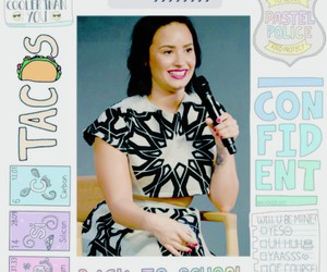 icons and demi lovato edits image
