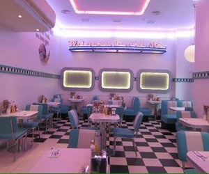 50s, diner, and 60s image