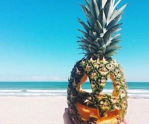Halloween, pineapple, and summer image