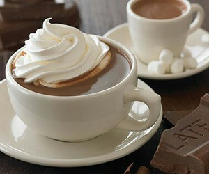 drink, food, and chocolate image