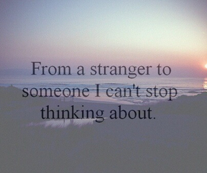 quote, sad, and stranger image