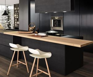 kitchen, home, and black image