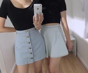 grunge, black, and skirt image