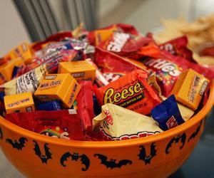 candy, chocolate, and Halloween image