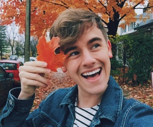 connor franta, autumn, and youtube image
