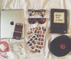book, apple, and beats image