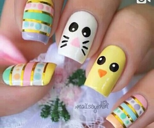 nails, cute, and easter image