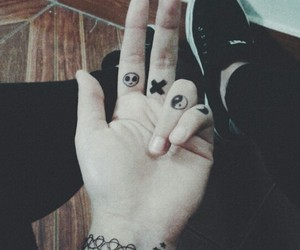 grunge and tattoo image