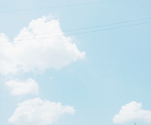 sky, pastel, and blue image