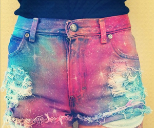 shorts, galaxy, and short image