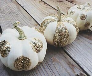 pumpkin, Halloween, and glitter image