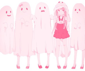 anime, ghost, and kawaii image