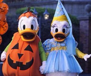 disney, Halloween, and donald image