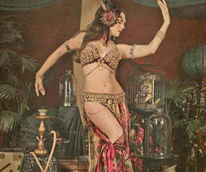 art, belly dance, and dance image