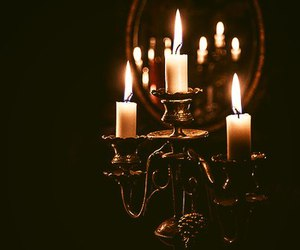 candles and fire image